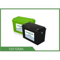 China Long Life Time UPS Rechargeable Batteries 12V 125Ah Lithium Battery Pack wholesale