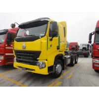 China ZZ4257N3847P Howo A7 Tractor Trailer Truck With ZF8198 Steering And 9 Tons Front Axle on sale