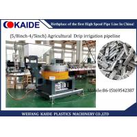 China 16mm / 20mm Plastic Pipe Production Line For Agricultural  Drip Irrigation Pipeline wholesale