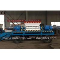 Buy cheap Two Shaft Industrial Waste Shredder Machine Custom Capacity For Waste Wood Pallet from wholesalers