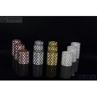 China 3 pcs Carved Electric Led Candles with 2*AA Battery Paint Color wholesale