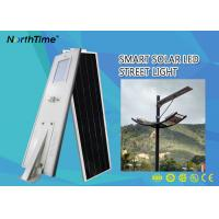 China 12V 26AH Lithium Battery 18-120W Smart Control System All in One Solar Street Light wholesale