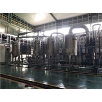 Buy cheap Upward Film Heat Transfer Multiple Effect Evaporation Coefficient For Beer Juice from wholesalers