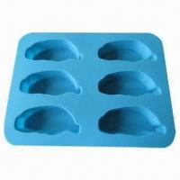 China Custom-made Cake Molds, Comes in Various Colors, Made of 100% Food Grade Silicone with LFGB Approval wholesale