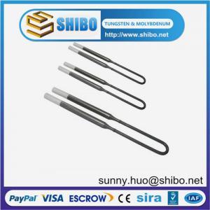China 1700/1800 MoSi2 Molybdenum Disilicide Heating Element, MoSi2 heating elements on sale