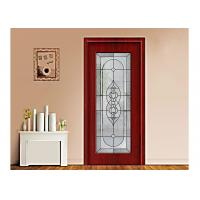 Buy cheap Art Building Decorative Patterned Glass Panels / Decorative Panels For Doors from wholesalers