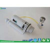 China Cable Operated Toilet Dual Flush Valve , Wc Flush Valve For Uk Concealed Cistern wholesale