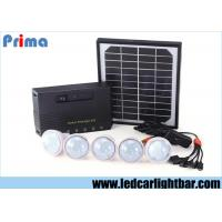 Buy cheap Energy Saving Indoor Home Solar Panel Led Lights USB Rechargeable Phone from wholesalers
