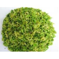 China ISO and Halal Best Taste of Green Dry Cabbage 8MM,9MM,11MM Freeze Dried Cabbage OEM wholesale