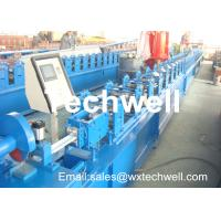China CCr 15 High Grade Steel Rolling Shutter Forming Machine For 5-15m/min Forming Speed wholesale