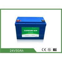 China 2000 Cycles Life Electric Forklift Battery 24V 50Ah Industrial Forklift Batteries wholesale