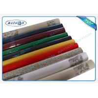 China Packed In Roll Pantone Color Non Woven Disposable Table Cloths 45g 50g 60g 70g Weight wholesale