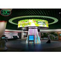 Buy cheap P5 full color 40000 dots/sqm Advertising LED Screens Indoor For Meeting / LED Video Walls With Iron Cabinet from wholesalers