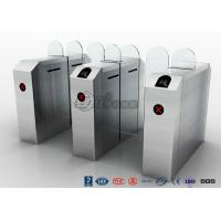 China Fastlane Turnstile Remote Control Access Control Turnstiles Tempered Glass Sliding wholesale