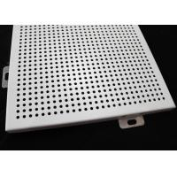 China railway station decorating Acoustic Perforated Ceiling Tiles / False Ceiling Tiles wholesale