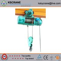 China Hot Sale Wire Rope Electric Hoist With Trolley on sale