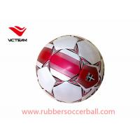 China Eco friendly laminated Machine Stitched Soccer Ball for World Cup on sale