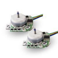China Small Brushless DC Motor 6v - 24v 24mm Diameter With Built In Driver wholesale