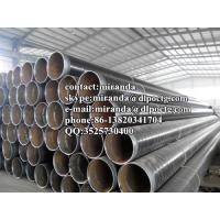 China 3PE Coated low temperature carbon steel pipe Hot drawn , DING 30670 , API5L wholesale