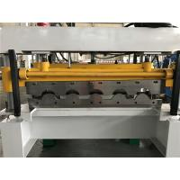 China High Speed 5 - 8m / min Tile Roll Forming Machine For Colored Steel Plate wholesale