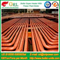 China ORL Power 50 MW CFB Boiler Superheater For Petroleum Steam Oil Industry Plant wholesale
