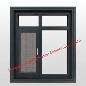 China Double Glazed Aluminum Sliding Window Doors Fire Attenuation Crimsafe Security Screens wholesale