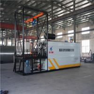 China Diesel Oil Burner Heating Bitumen Decanting Machine Large Size For Drum Packing wholesale