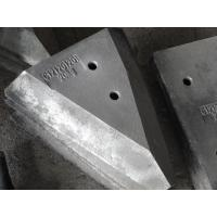 Buy cheap High Chrome White Iron Castings Grinding Mill Hopper Car Block Liners from wholesalers