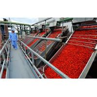 China high efficiency steady running tomato paste processing plant tomato paste factory  Italy technology wholesale