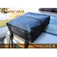China Travel Roof Storage Bag Large Capacity Black Color 1000d Dacron Mesh Material wholesale