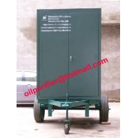 China Oil Filtration System Trailer-mounted Hi-vac Transformer Oil Purifier, Dielectric Oil wholesale