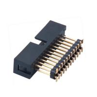 Buy cheap Full Gold Plating SMT Connector 2.54 Mm Pitch Box Header H=9.0 Add Housing from wholesalers