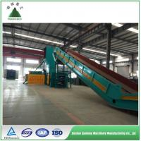 Full automatic horizontal hydraulic baler for PET plastic film/bottle baling