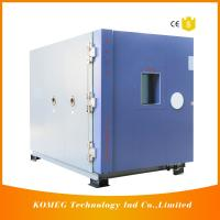 China Combined Temperature Altitude Humidity Low Pressure Test Chamber With Air Cooling Fin Condenser wholesale
