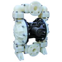 Quality Air Operated Rubber Diaphragm Pump , Dual Diaphragm Pump No Leakage for sale
