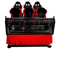 Quality Large Screen 5D Movie Theater , Amazing Special Effect 6 Dof Hydraulic System for sale