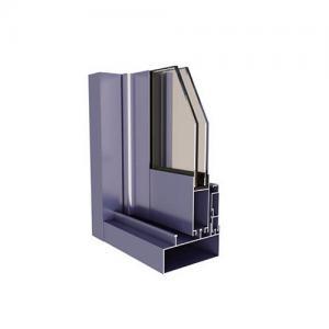 China 6005 6060 Aluminum Profile Extrusion Frame , T4 Aluminum Door Frame Profile wholesale