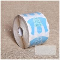 China 500 Pieces PVC Gel Nail Forms , Acrylic Nail Art Extension Guide Forms NF74 wholesale