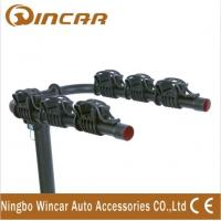 China Automobile Trailer Ball Bicycle Rack Rear Mounted 3 Bike Bicycle Carrier wholesale