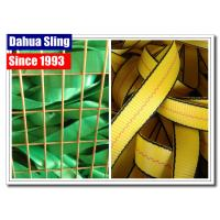 China 100% Polyester Ratchet Strap Webbing For Trailer Tie Down Strap Grade AA wholesale