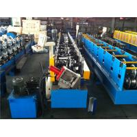China Guide Pillar Metal Sheet Forming Machine , Purlin Roll Forming Machine By Chain wholesale