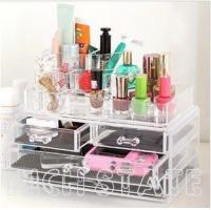 China Acrylic Cosmetic boxes wholesale