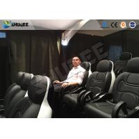 China Project  DuoHa 9 People 5D Movie Theater With Vibration / Lighting Effects wholesale