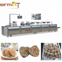 China Smart 4kw Cereal Bar Forming Machine with Siemens PLC Touch Screen wholesale