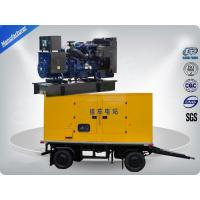 China 80kw 100kva Trailer Mounted Silent Type Generator With Cummins Diesel Engine Low Fuel Consumption wholesale