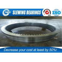 China Military Products Cross Roller Bearing , Single Row Large Diameter Bearings wholesale
