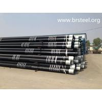 China BTC Threaded  P110 seamless oil  casing pipe on sale