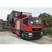 China Large Smoke Exhaust Fire Fighting Truck 6*4 Drive Type 28t Weight 2300N Maximum Torque on sale