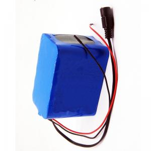 China MSDS 12V 10Ah 18650 Rechargeable Battery Pack NMC LiFePO4 wholesale