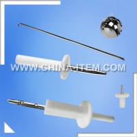 China CEI/EN/IEC 60601 Test Probe Kit of Standard Test Finger & Test Hook & Test Pin on sale
